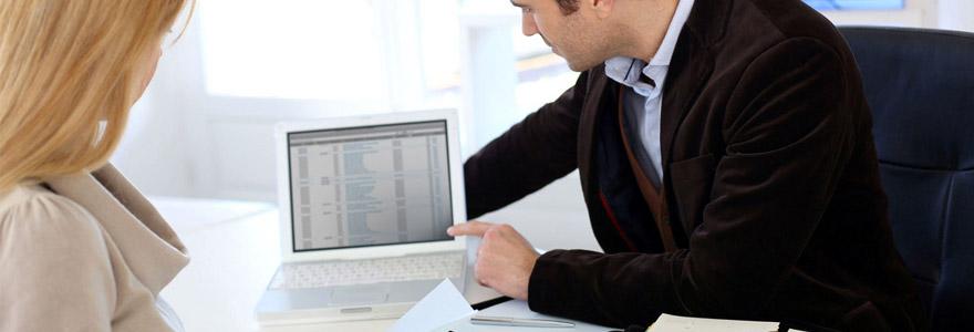 création d'entreprises en ligne