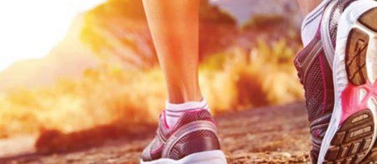 chaussures de running avec amorti