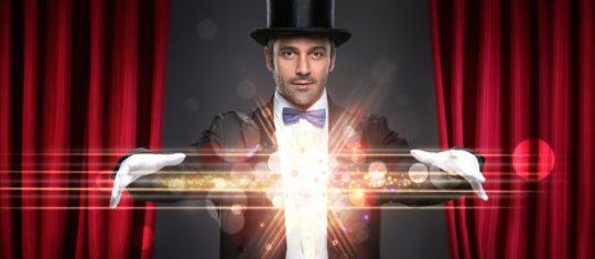 Sélectionner un magicien professionnel