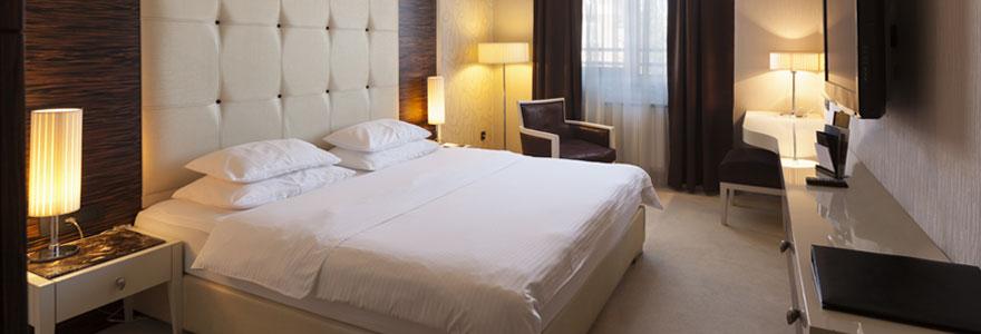 Chambre d'hôtel à Paris